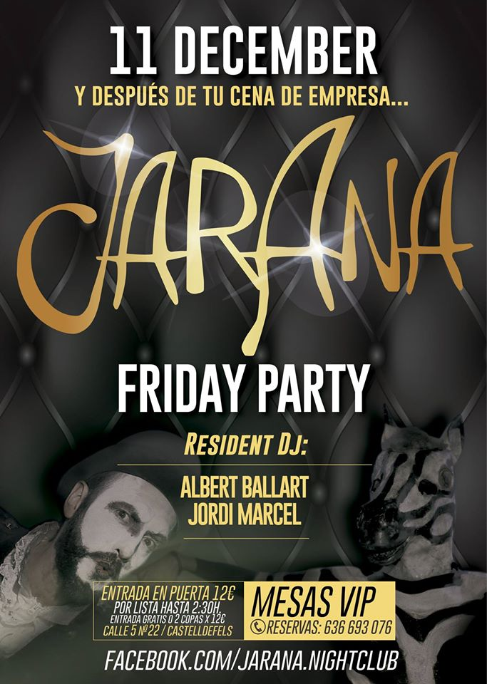 Jarana presents: Friday Party